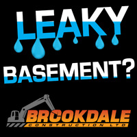 LEAKY BASEMENTS & WATERPROOFING EXPERTS