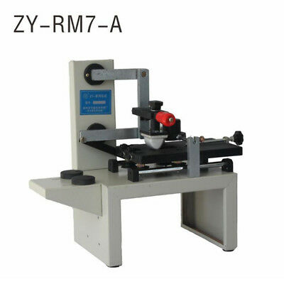 Hot Manual Pad Printing Machinehandle Pad Printermove Ink Printer Zy-rm7-a