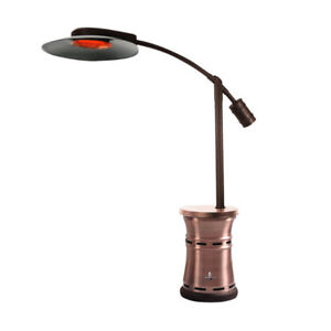 PATIO HEATER  Brushed Copper Finish - Natural Gas Configurat