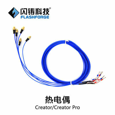 2pcs FlashForge 3d printer parts thermocouple for Creator / Creator Pro