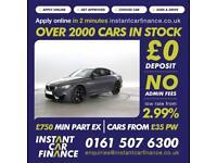 BMW M4 3.0 DCT 2dr GOOD / BAD CREDIT CAR FINANCE