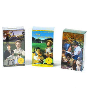 Anne of Green Gables Trilogy BRAND-NEW SEALED VHS TAPES