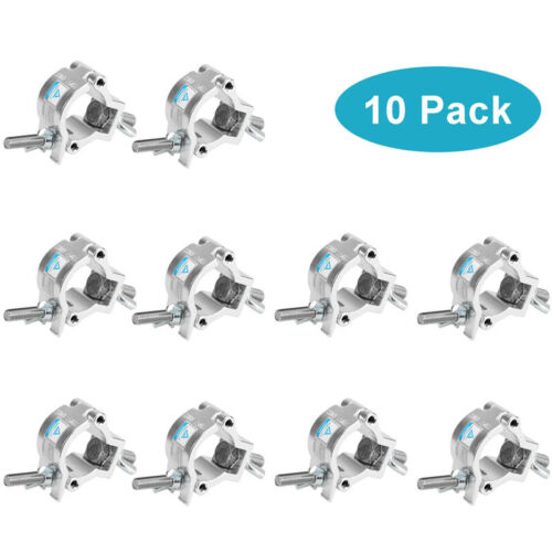 10x Stage Light Clamp Fit OD 32- 35mm Truss F24 Aluminum Alloy TUV Certificated