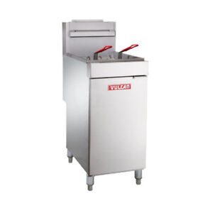Nella - Commercial 65-70 lb Gas Deep Fryer - Brand New