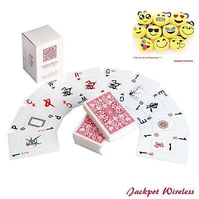 American Mahjong Mah Jongg Playing Cards Kards New Gift