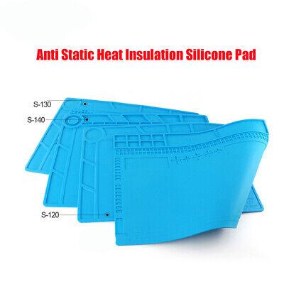 Anti Static Heat Insulation Silicone Pad Desk Mat For Phone Computer Repair