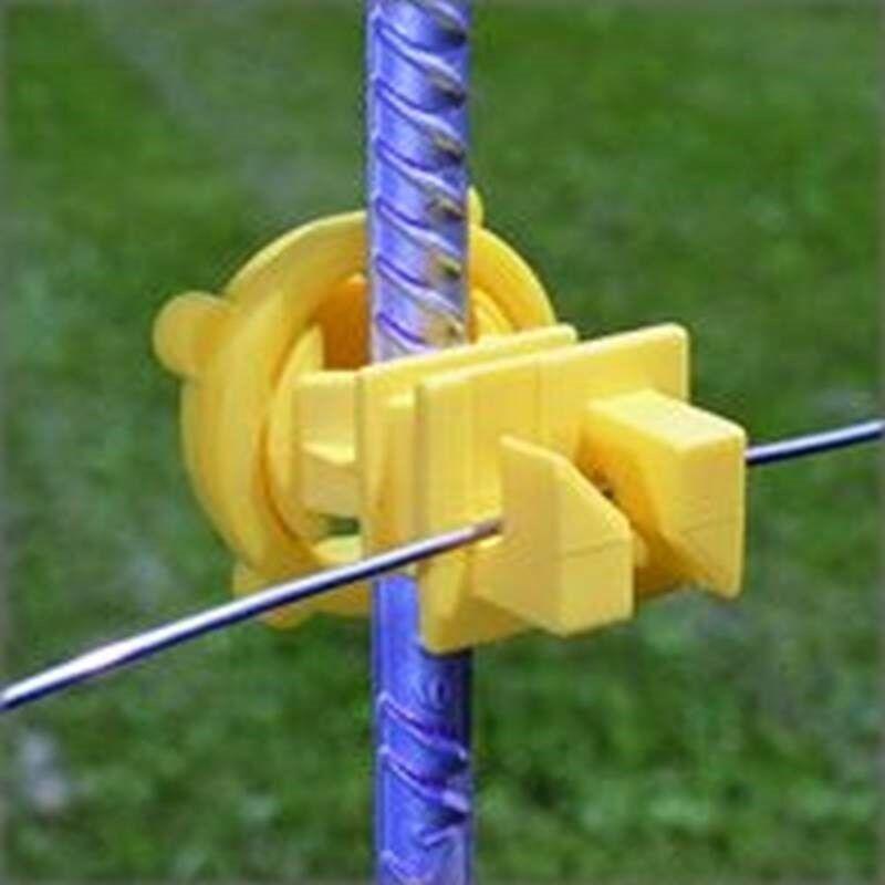 IT5XY-FS Fi-Shock  Electric  Electric Fence Insulator  25 pk Yellow