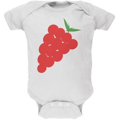 Halloween Red Grapes Costume Soft Baby One Piece](Halloween Costume Grapes)