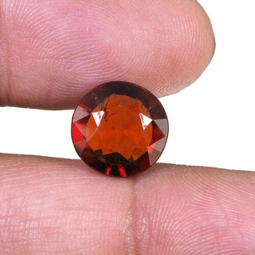6.60 Cts Natural Hessonite Garnet Sri Lanka Dazzling Orange Untreated Gemstone