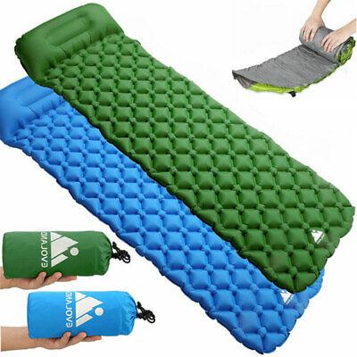Aufblasbare Isomatte Luftmatratze Camping Thermomatte Schlafmatte Sleeping Pad