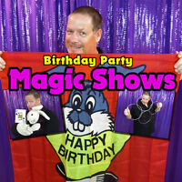 Magician for Birthday Party Entertainment