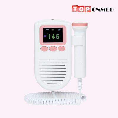 Fetal Doppler Baby Fetal Heart Rate Monitor For Pregnant 2.0mhz Probe Fhr Scale