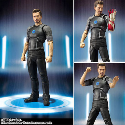 6'' Marvel S.H.Figuarts Iron Man Figure Movable Model Collection Toy New in Box