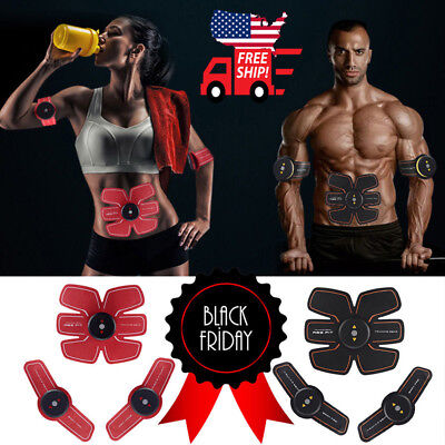 Ultimate ABS Simulator EMS Training Body Abdominal Muscle Exerciser AB & Arms (Body Training)