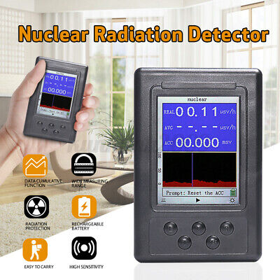 Upgraded Geiger Counter Nuclear Radiation Detector Y X-ray Monitor Meter Test