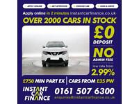 Nissan Qashqai 1.5dCi ( 110ps ) Tekna FINANCE FROM £58 PER WEEK