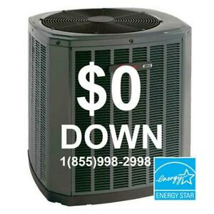 Central Air Conditioner - Furnace Rent to Own - $0 down - NO Credit Check - Call Today