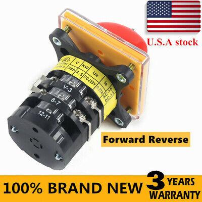 Bridgeport Milling Machine Switch Forward Reverse 3 Phase Motor Milling Switch