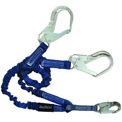 Falltech Lanyard 6-foot Tie-off Fall Arrest Waluminum Rebar Hooks
