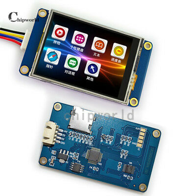 2.4 Tft Usart Hmi Lcd Display Module Touch Panel 320240 Smart 3.3v 5v Ttl