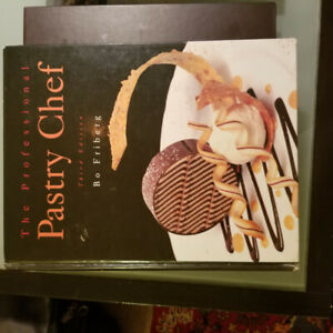Pastry book The Professional Pastry Chef third edition Bo Friber