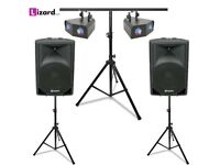DJ Party System 1 – iPod / Laptop - DJ Equipment Hire - £65