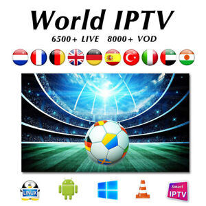 7$/Month - HD IPTV- CANADA/US/WORLD CHANNELS-1 Time Subscribe