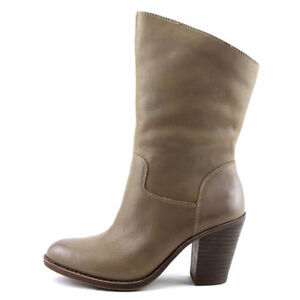 New Lucky Brand Embrleigh  Leather Mid Calf Boot Size 9-9.5