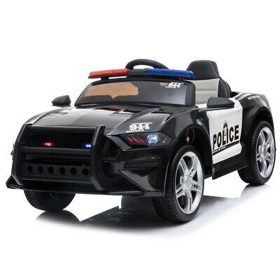 Coche de policía ATAA - Coche eléctrico infantil para niños batería 12v...