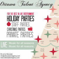 Entertainment for your Holiday or Private Party