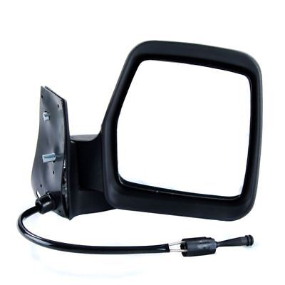 PEUGEOT EXPERT 1996 2006 MANUAL CABLE BLACK DOOR WING MIRROR OS RIGHT