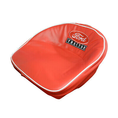 Red Seat Cover Wembroidered Ford Tractor Logo - 39-64 Ford Tractor 8n-401-r
