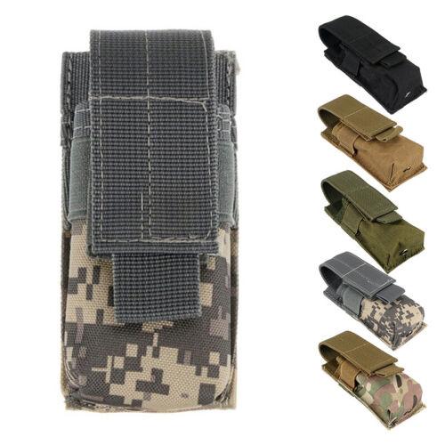 Nylon Holster Holder Belt Pouch Case Bag For Tactical LED Fl