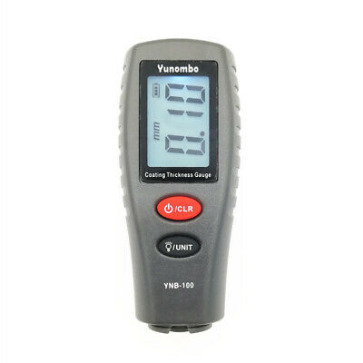 Digital Mini Coating Tester Car Paint Thickness Gauge Meter With Backlight Lcd