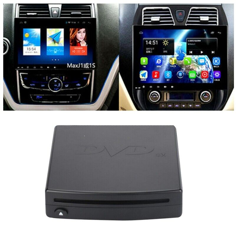 External DVD Player USB CD Read Disc Player fits Android System Car Video Radio