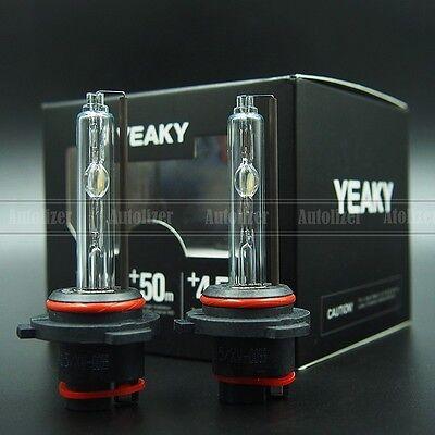 - 9006 NEW YEAKY HID Xenon Headlight BULBS 55K OEM PHILIPS QUARTZ GLASS PURE WHITE