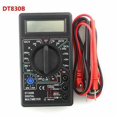 Dt830b Lcd Display Digital Multimeter Voltmeter Ammeter Ohmmeter 1000v 10a 750v