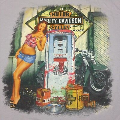 irt Rubber City Akron Ohio Biker Motorcycle Bar 2-sided (Rubber City Harley)
