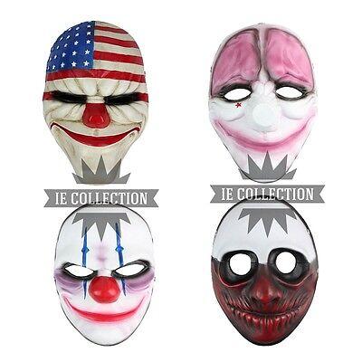 PAYDAY 2 MASCHERE COSPLAY DALLAS WOLF HOXTON CHAINS maschera mask payday2 horror