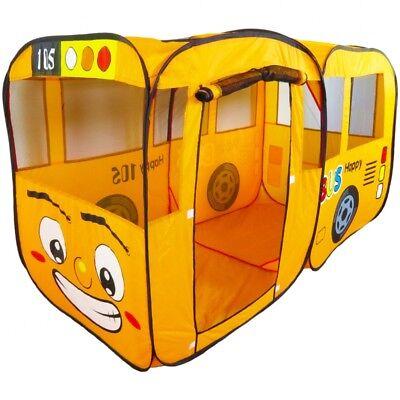 Spielzelt Bus Zelt Geschenk für Weihnachten Geschenkidee Kinder Spielzeug POP-UP