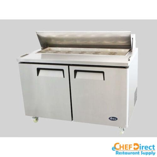 """Atosa Msf8303 60"""" Double Door Standard Top Sandwich Prep Unit"""
