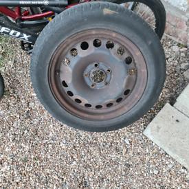 Vauxhall astra zafira 16 inch steel wheel with tyre Plenty of tread