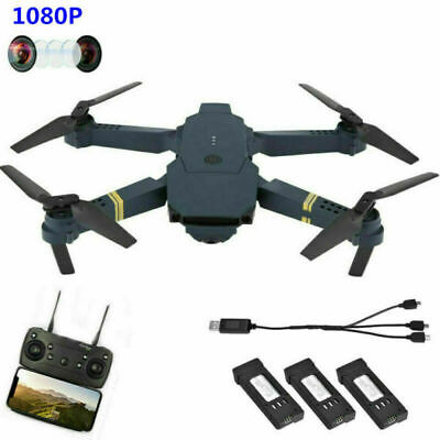 Eachine E58 WIFI FPV con 5MP Cámara Angular Plegable RC Drone Quadcopter