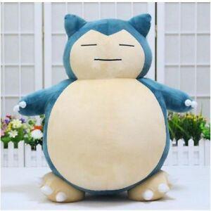 Jumbo SNORLAX Pokemon Center Kabigon Plush Toy Soft Doll 30cm Figure Gift