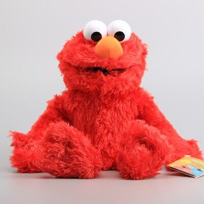Sesame Street Elmo Plush Hand Puppet Play Games Doll Puppets Kids Birthday Gift ()