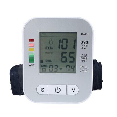 Accurate Full-automatic Upper Arm Blood Pressure Monitor Bp Cuff Machine Gauge