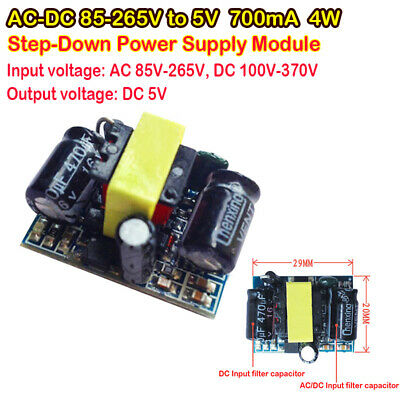4w Ac-dc Isolated Power Converter 85v-265v To 5v 700ma Step-down Module Switch