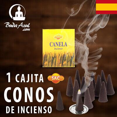 CONOS CANELA INCIENSO SAC 1 CAJITA CONO INDIO AROMA FRAGANCIA DE LARGA...