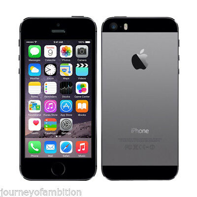 Apple iphone 5s -32GB Space Gray- GSM Unlocked- 4G SIMFREE Smartphone + WARRANTY