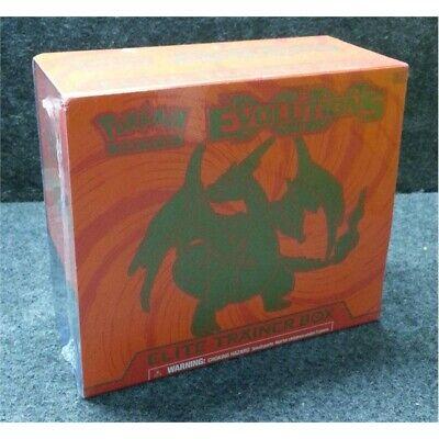 Pokemon 155-80165 Trading Card Game Evolutions Elite Trainer Box, Worn Box